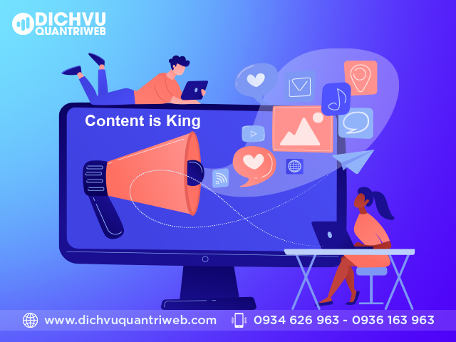 Xây dựng nội dung website theo kế hoạch
