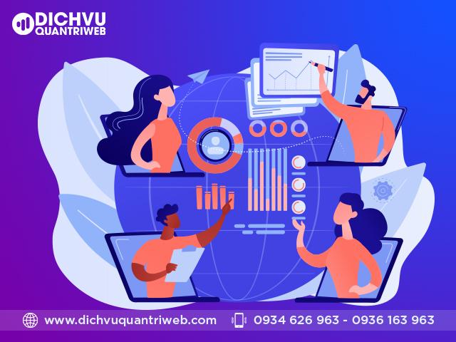 Quy trình triển khai dịch vụ quản trị website