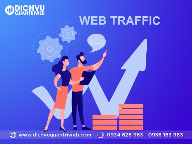 Tổng hợp báo cáo lượng traffic, lượng khách truy cập vào website