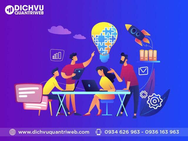 Quy trình của dịch vụ quản trị website tại Dichvuquantriweb.com