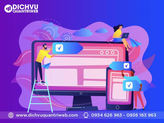 Sơ lược về công việc quản lý website