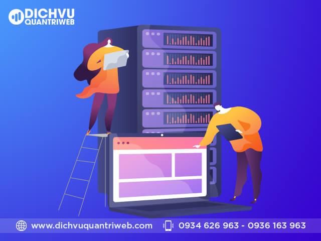 Quản lý hosting và sao lưu dữ liệu